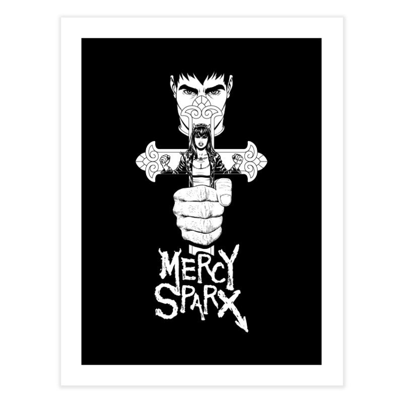 Mercy Sparx - Cross Home Fine Art Print by Devil's Due Comics