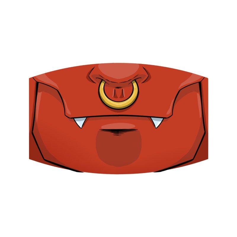 "Demon Face Mask - ""Mr. Suit"" by Josh Blaylock Accessories Face Mask by Devil's Due Comics"