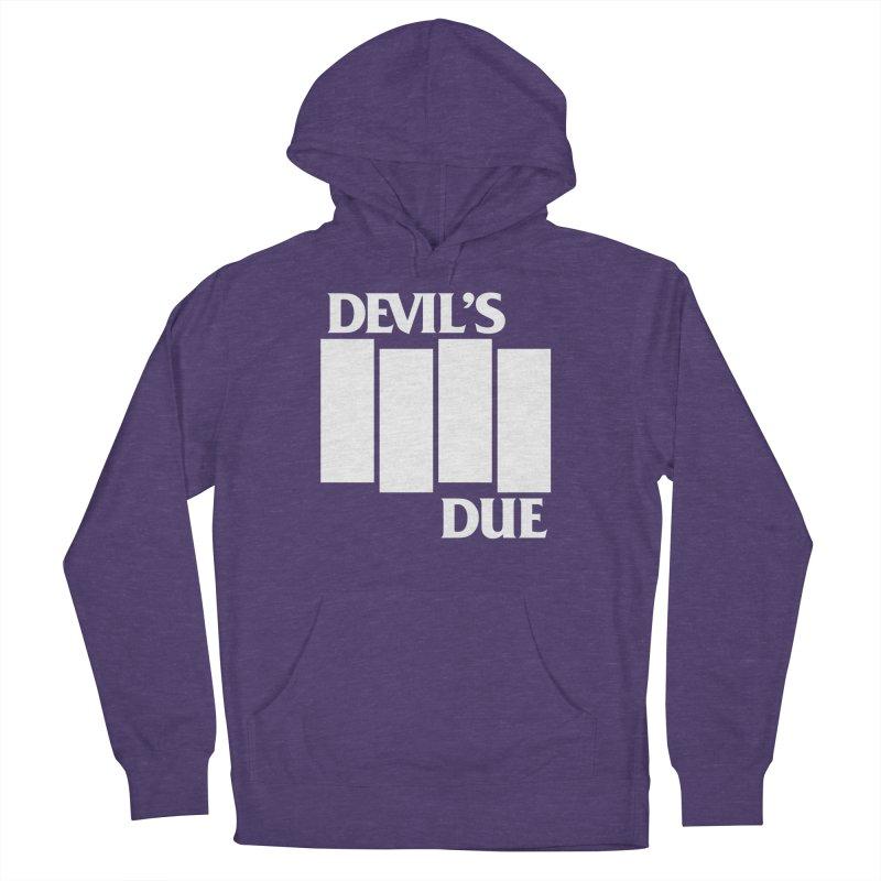 Devil's Due Flag Women's Pullover Hoody by Devil's Due Entertainment Depot