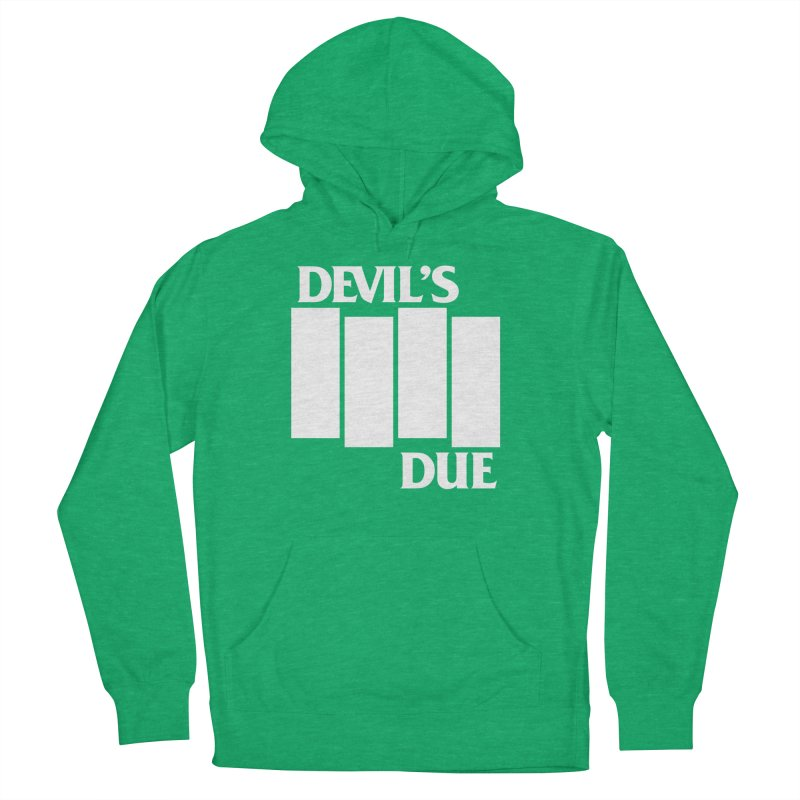 Devil's Due Flag Men's French Terry Pullover Hoody by Devil's Due Comics