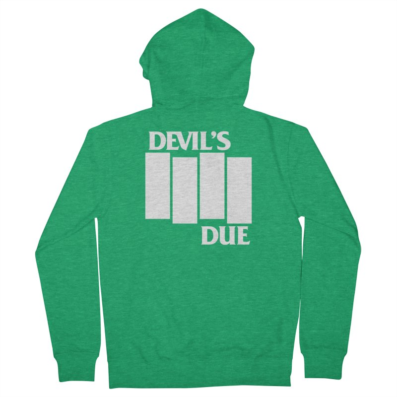 Devil's Due Flag Women's Zip-Up Hoody by Devil's Due Comics