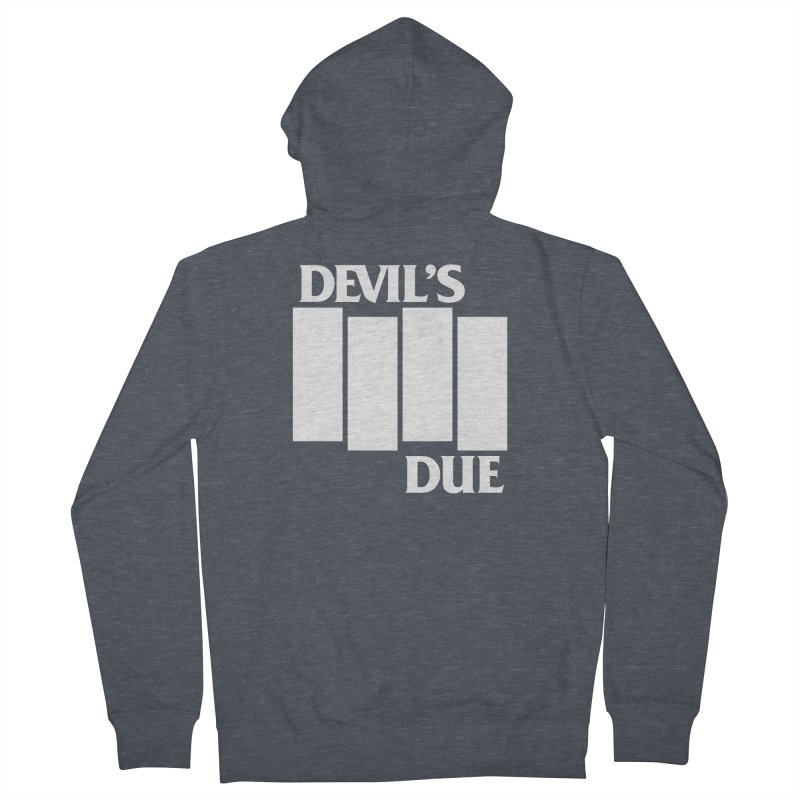 Devil's Due Flag Women's French Terry Zip-Up Hoody by Devil's Due Comics