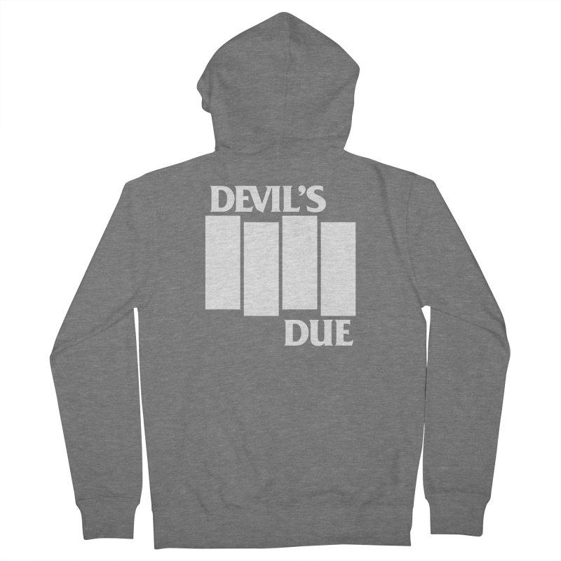 Devil's Due Flag Women's Zip-Up Hoody by Devil's Due Comics