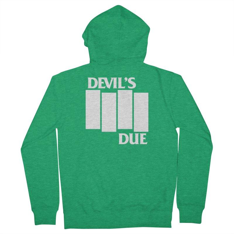 Devil's Due Flag Men's Zip-Up Hoody by Devil's Due Comics