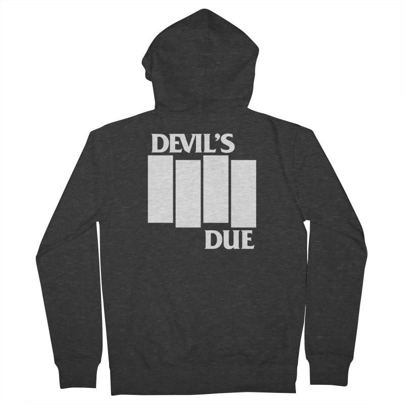 Devil's Due Flag Men's French Terry Zip-Up Hoody by Devil's Due Comics