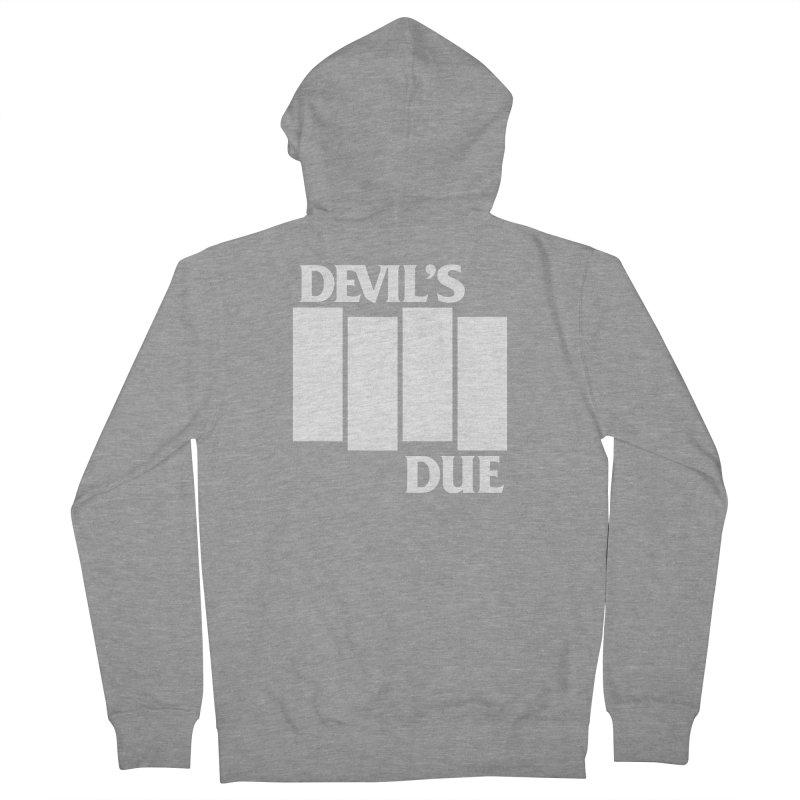 Devil's Due Flag Men's Zip-Up Hoody by Devil's Due Entertainment Depot