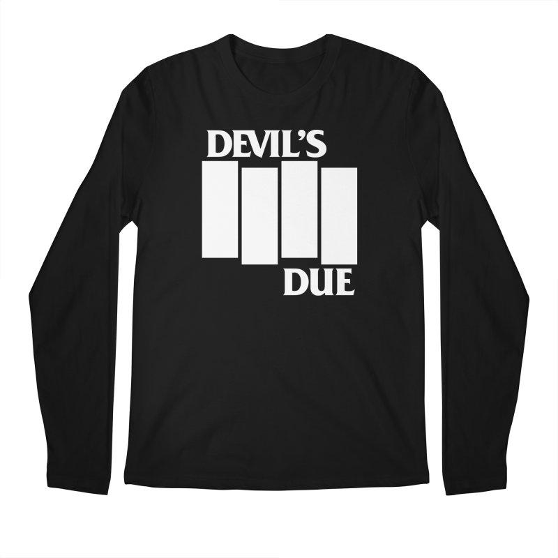 Devil's Due Flag Men's Longsleeve T-Shirt by Devil's Due Comics