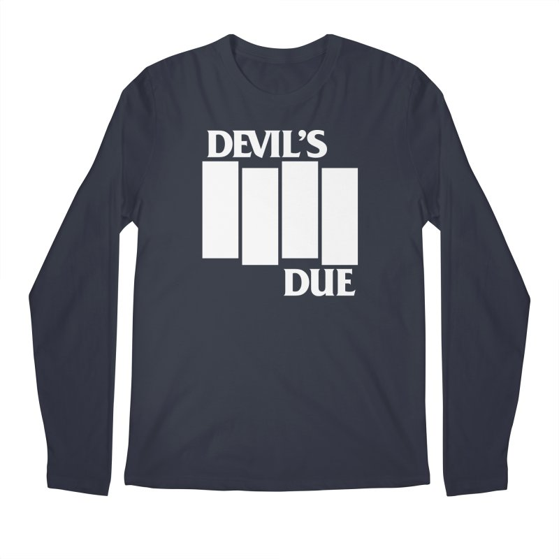 Devil's Due Flag Men's Regular Longsleeve T-Shirt by Devil's Due Comics