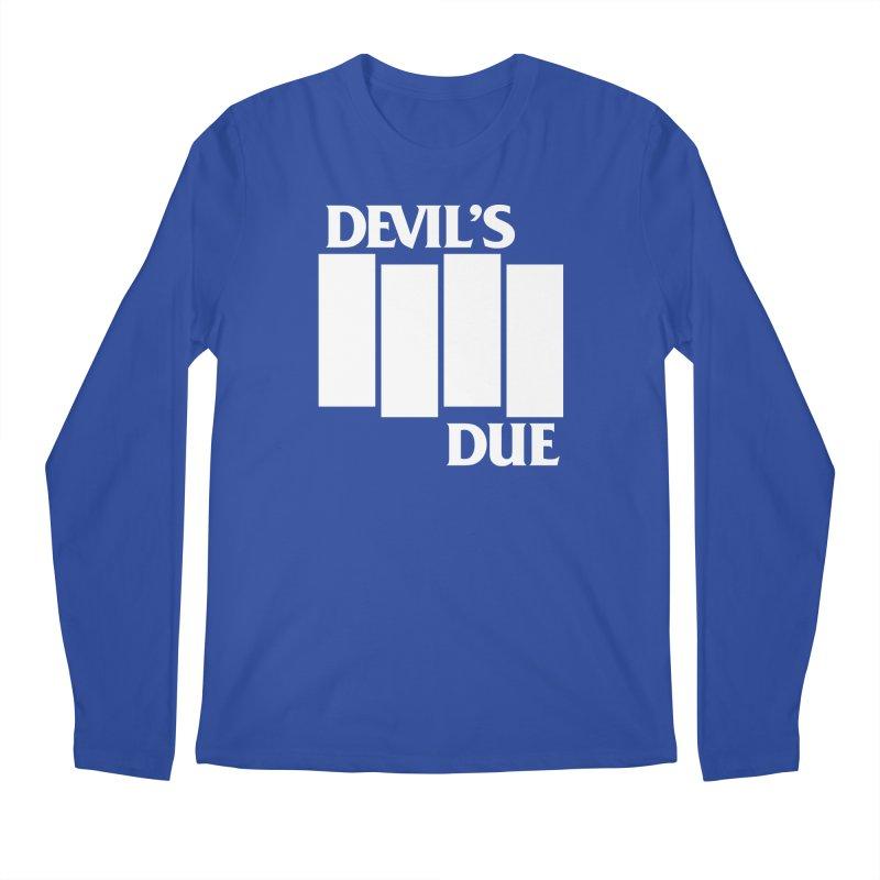 Devil's Due Flag Men's Longsleeve T-Shirt by Devil's Due Entertainment Depot