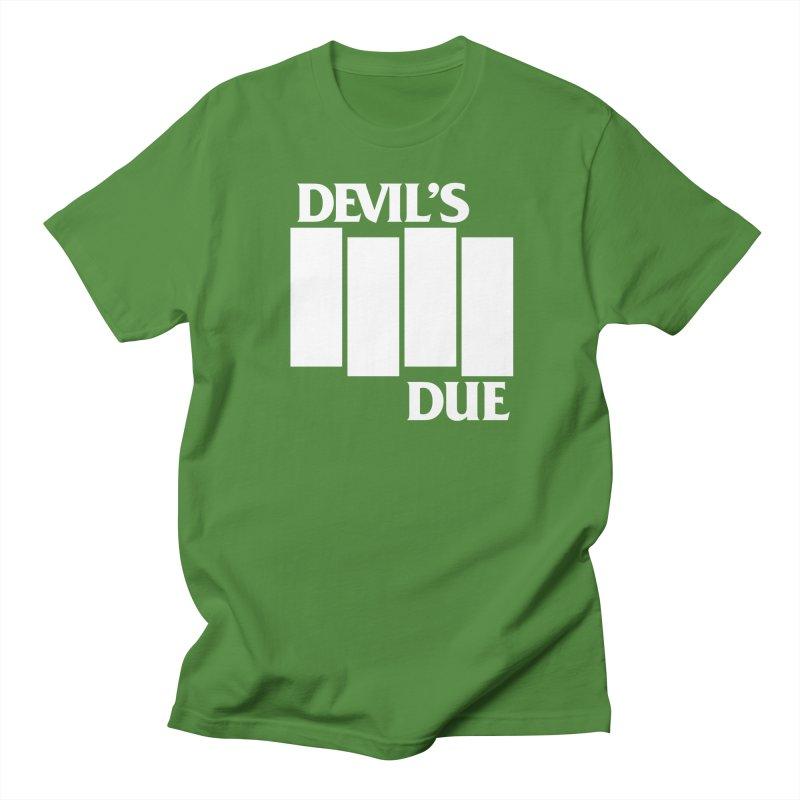Devil's Due Flag Men's T-shirt by Devil's Due Entertainment Depot
