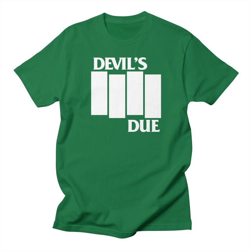 Devil's Due Flag Men's T-Shirt by Devil's Due Entertainment Depot