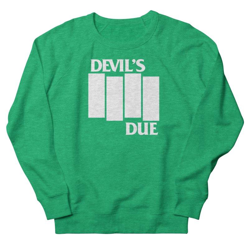 Devil's Due Flag Women's Sweatshirt by Devil's Due Comics