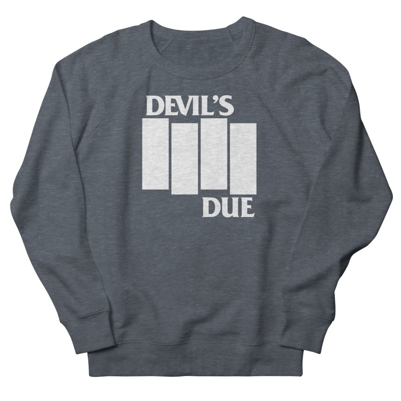 Devil's Due Flag Women's French Terry Sweatshirt by Devil's Due Entertainment Depot