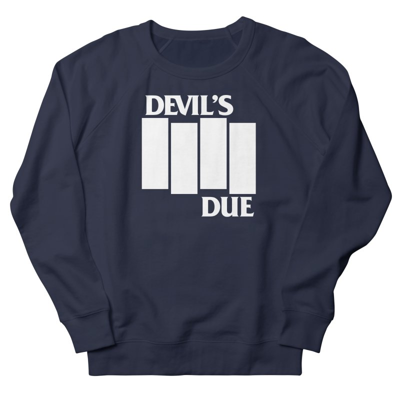 Devil's Due Flag Women's French Terry Sweatshirt by Devil's Due Comics