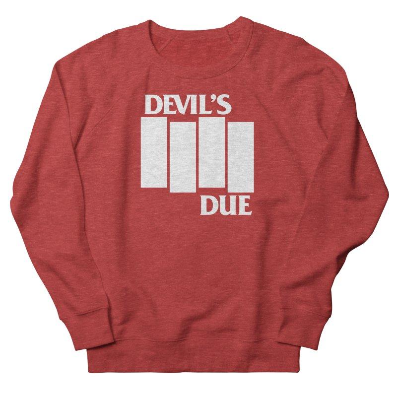 Devil's Due Flag Men's French Terry Sweatshirt by Devil's Due Comics