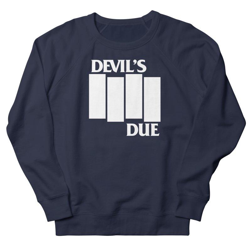 Devil's Due Flag Men's French Terry Sweatshirt by Devil's Due Entertainment Depot