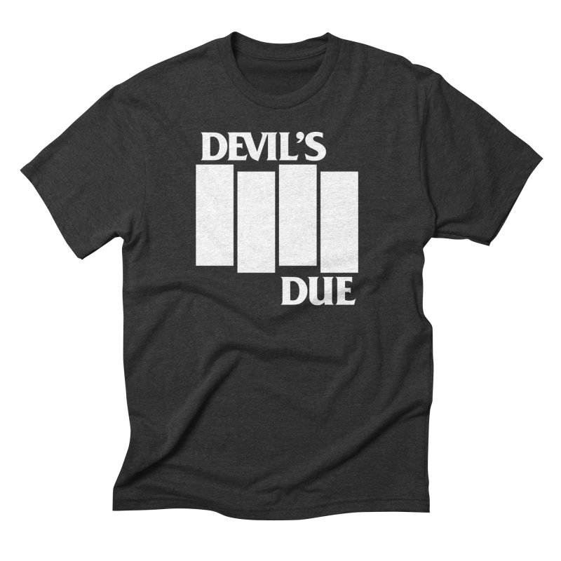 Devil's Due Flag Men's Triblend T-Shirt by Devil's Due Comics