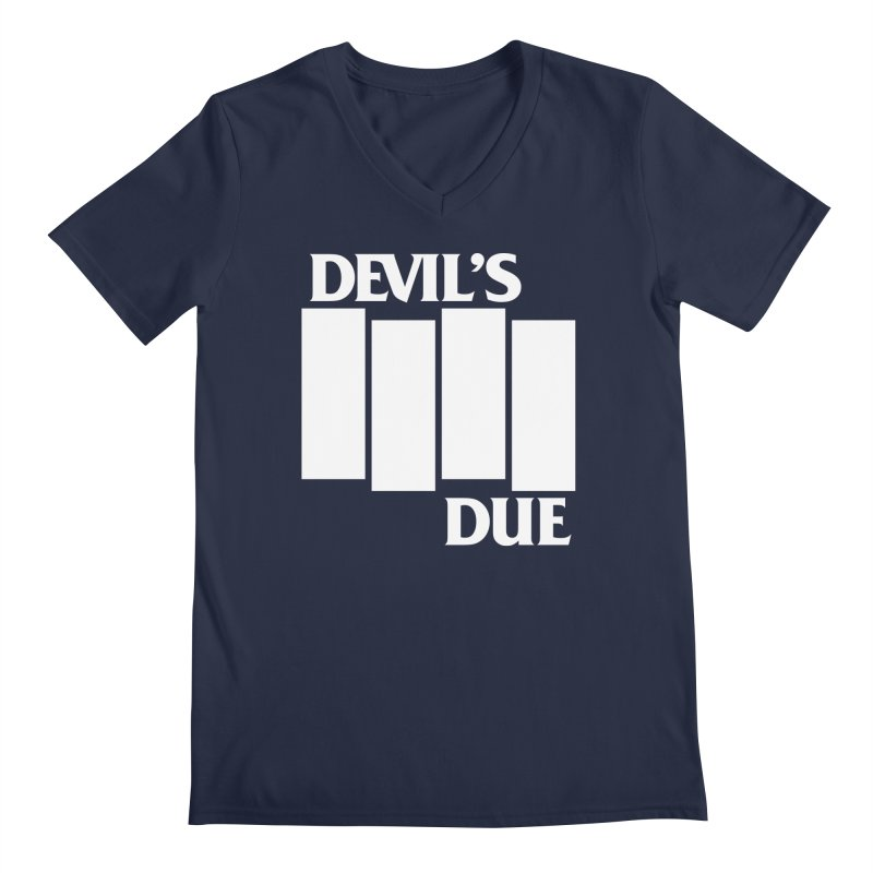 Devil's Due Flag Men's Regular V-Neck by Devil's Due Comics