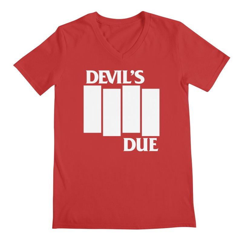 Devil's Due Flag Men's V-Neck by Devil's Due Comics