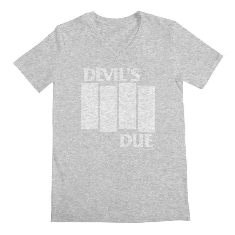 Devil's Due Flag Men's Regular V-Neck by Devil's Due Comics