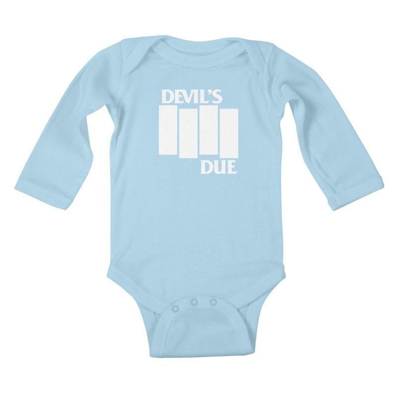 Devil's Due Flag Kids Baby Longsleeve Bodysuit by Devil's Due Entertainment Depot