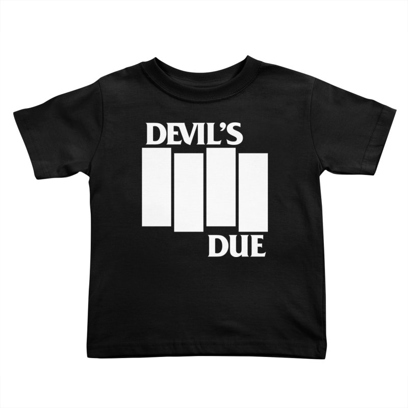 Devil's Due Flag Kids Toddler T-Shirt by Devil's Due Comics