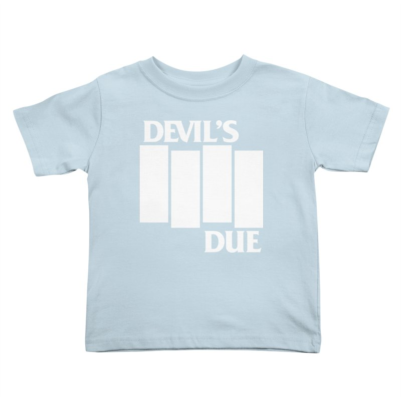 Devil's Due Flag Kids Toddler T-Shirt by Devil's Due Entertainment Depot
