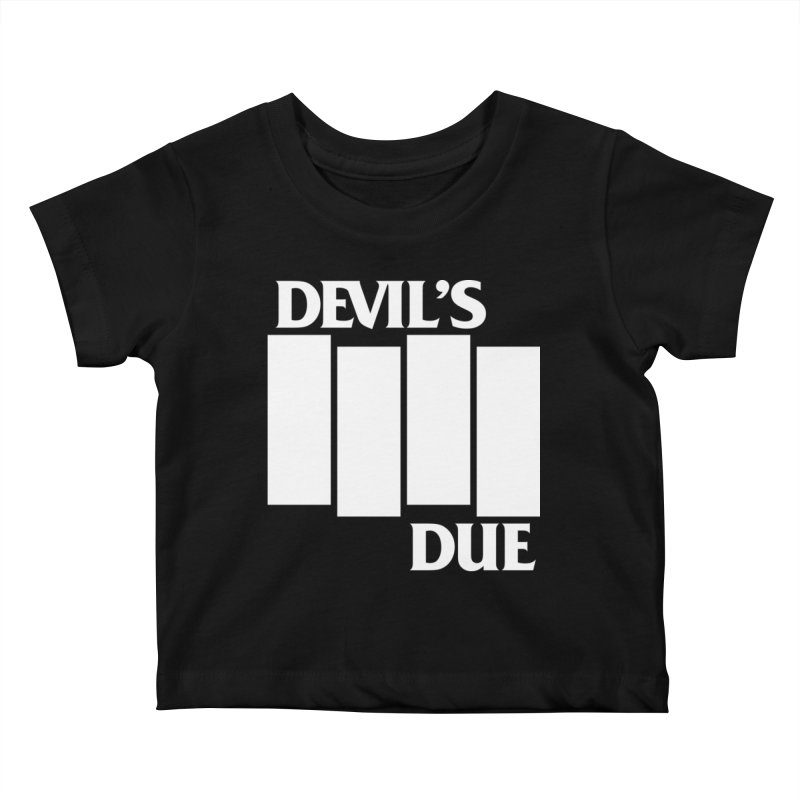 Devil's Due Flag Kids Baby T-Shirt by Devil's Due Entertainment Depot