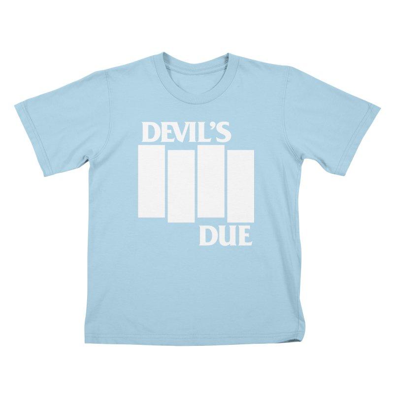 Devil's Due Flag Kids T-Shirt by Devil's Due Entertainment Depot