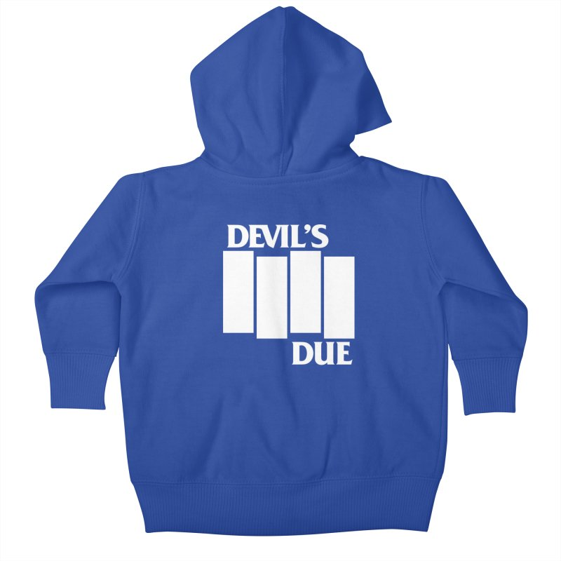 Devil's Due Flag Kids Baby Zip-Up Hoody by Devil's Due Entertainment Depot