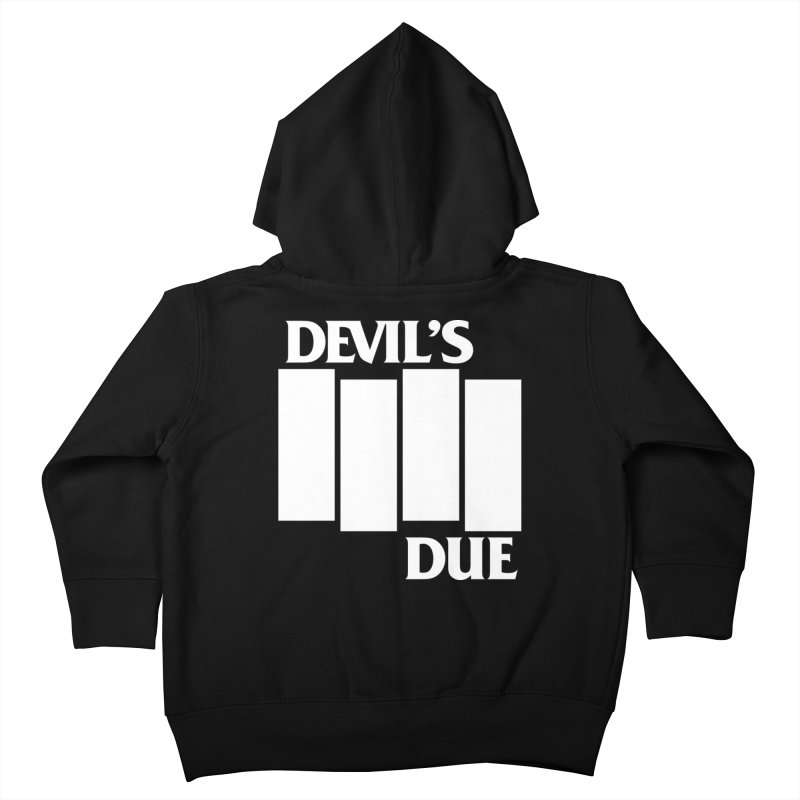 Devil's Due Flag Kids Toddler Zip-Up Hoody by Devil's Due Comics