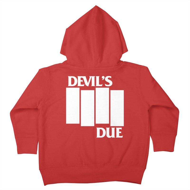 Devil's Due Flag Kids Toddler Zip-Up Hoody by Devil's Due Entertainment Depot