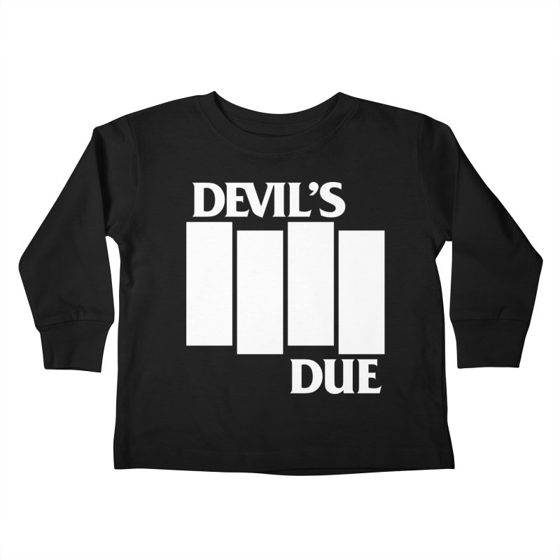 Devil's Due Flag Kids Toddler Longsleeve T-Shirt by Devil's Due Comics