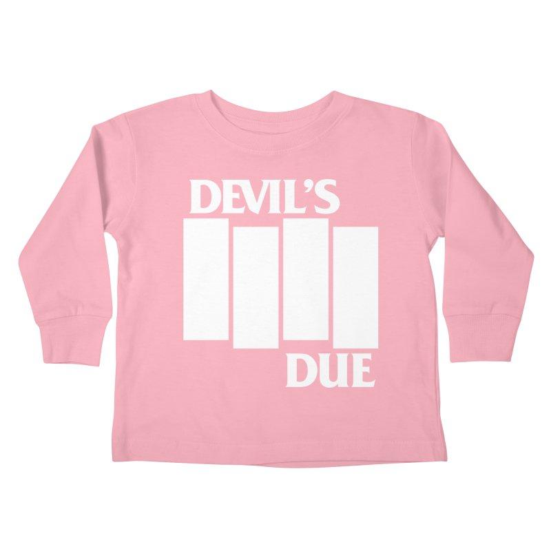 Devil's Due Flag Kids Toddler Longsleeve T-Shirt by Devil's Due Entertainment Depot