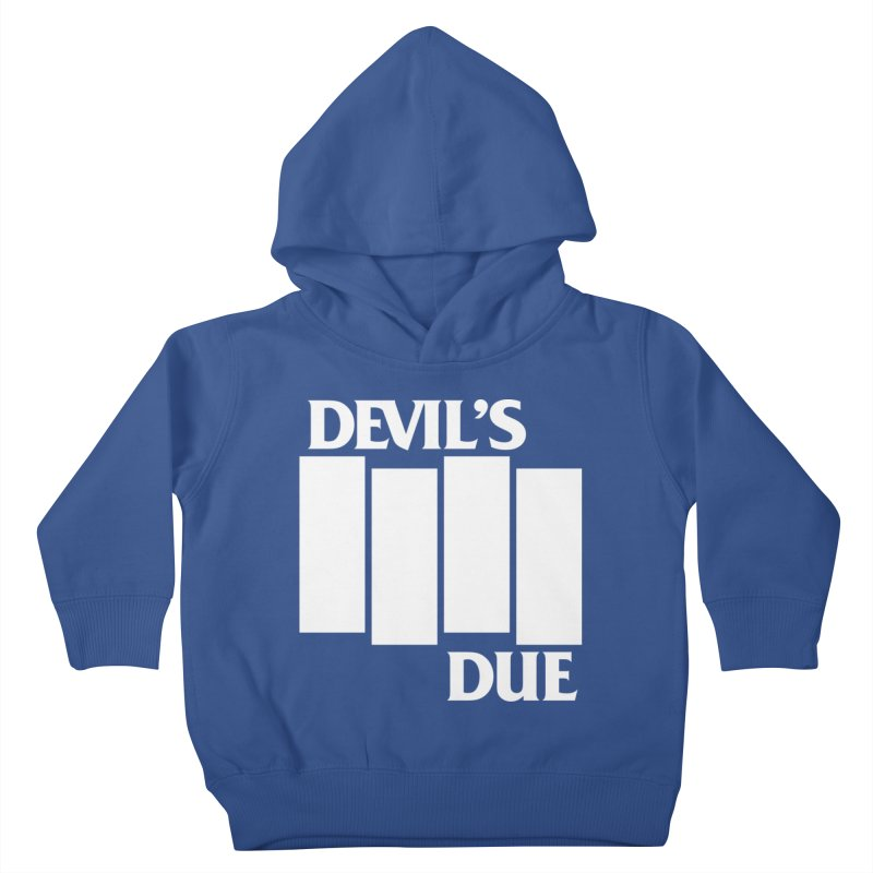 Devil's Due Flag Kids Toddler Pullover Hoody by Devil's Due Entertainment Depot