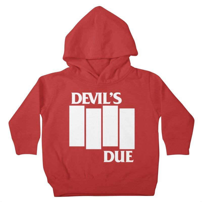 Devil's Due Flag Kids Toddler Pullover Hoody by Devil's Due Entertainment Depot