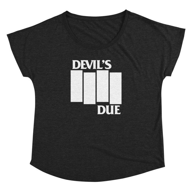 Devil's Due Flag Women's Dolman Scoop Neck by Devil's Due Comics