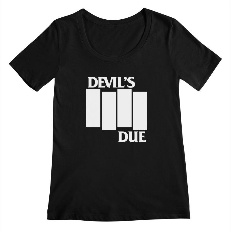 Devil's Due Flag Women's Scoopneck by Devil's Due Entertainment Depot