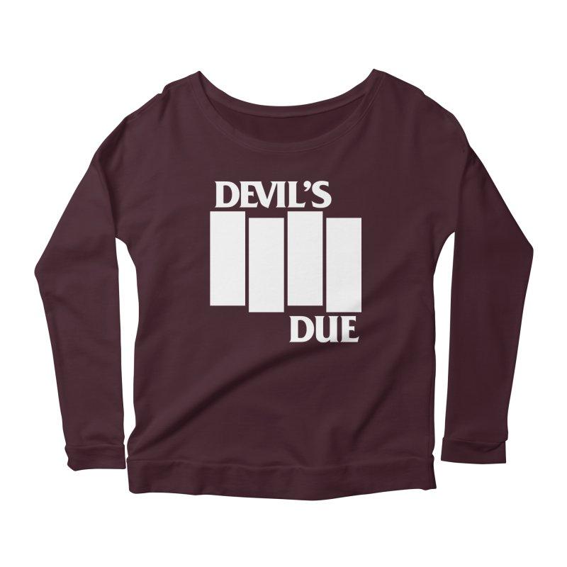 Devil's Due Flag Women's Scoop Neck Longsleeve T-Shirt by Devil's Due Comics