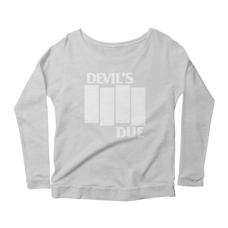 Devil's Due Flag Women's Scoop Neck Longsleeve T-Shirt by Devil's Due Comics