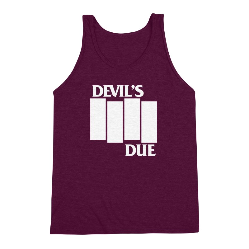 Devil's Due Flag Men's Triblend Tank by Devil's Due Comics