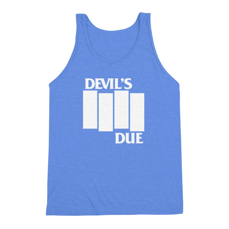 Devil's Due Flag Men's Triblend Tank by Devil's Due Entertainment Depot