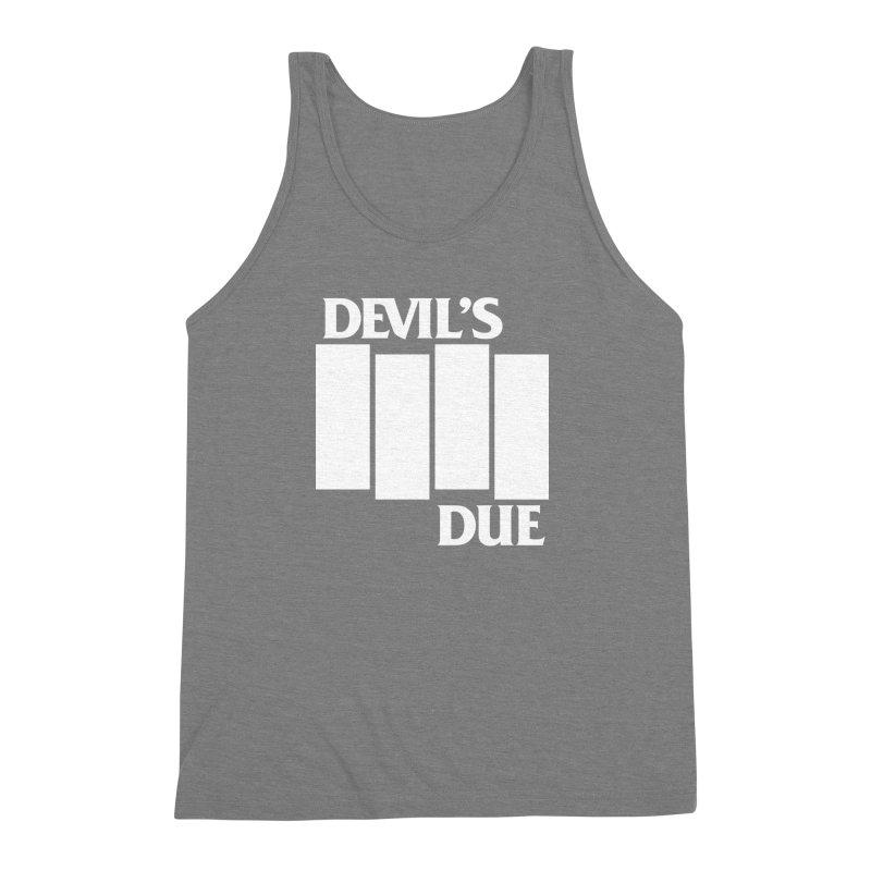 Devil's Due Flag Men's Triblend Tank by Devil's Due Entertainment Depot