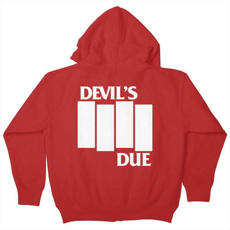 Devil's Due Flag Kids Zip-Up Hoody by Devil's Due Entertainment Depot