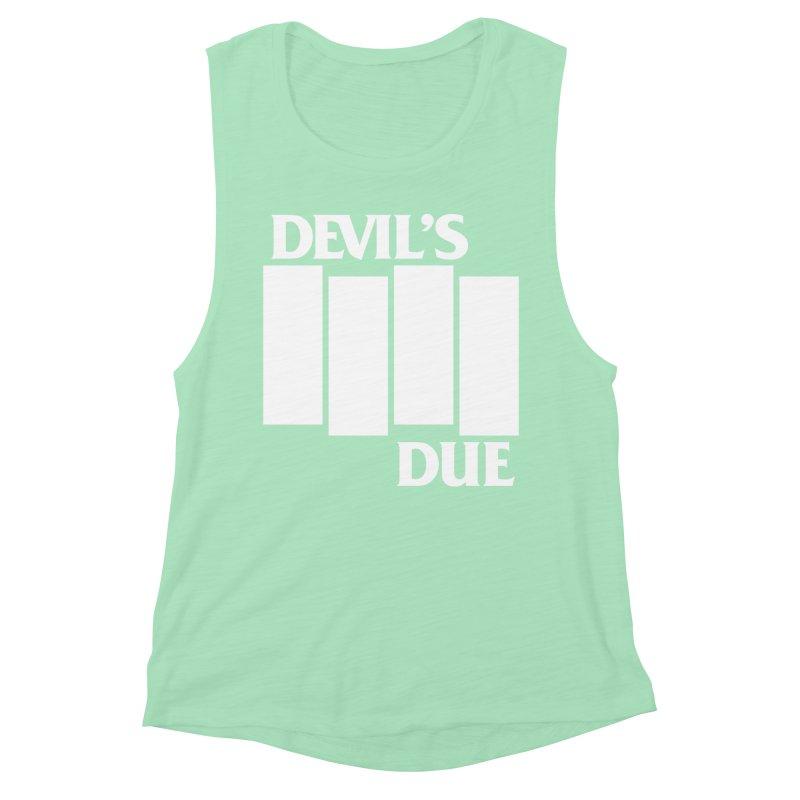 Devil's Due Flag Women's Muscle Tank by Devil's Due Comics