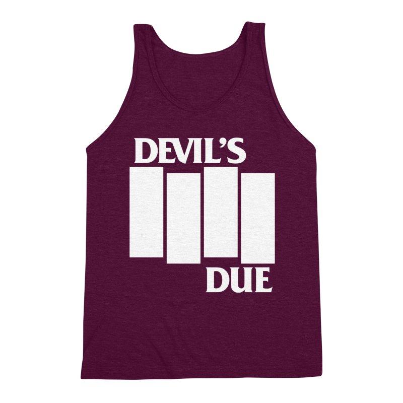 Devil's Due Flag Men's Triblend Tank by Devil's Due Comics