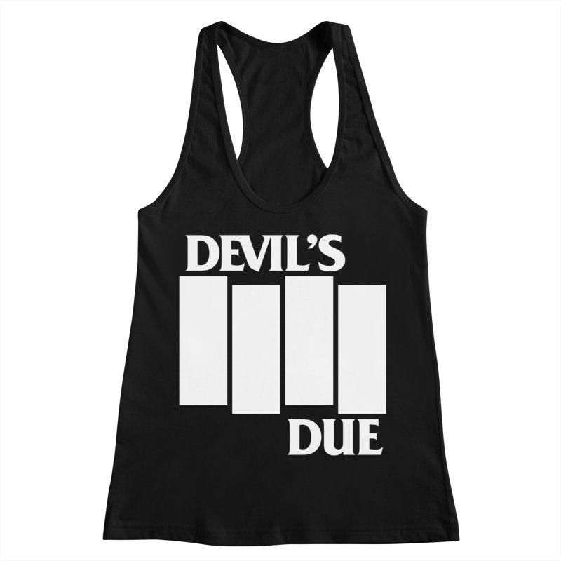 Devil's Due Flag Women's Racerback Tank by Devil's Due Comics