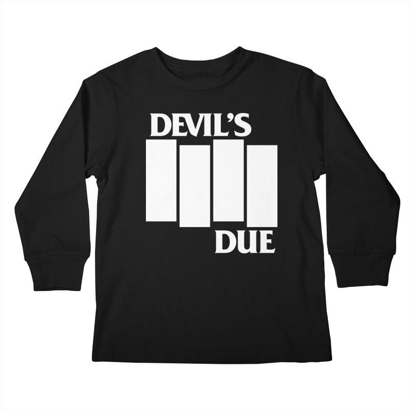Devil's Due Flag Kids Longsleeve T-Shirt by Devil's Due Comics