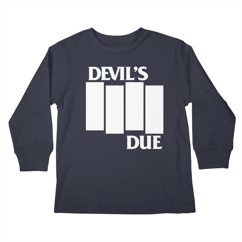 Devil's Due Flag Kids Longsleeve T-Shirt by Devil's Due Entertainment Depot
