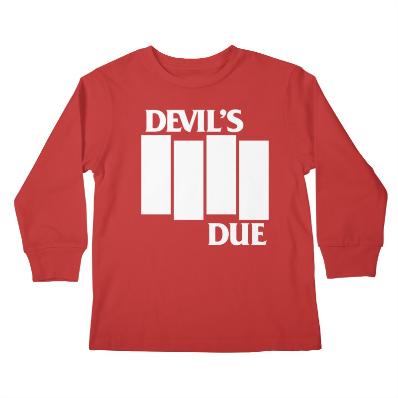 Devil's Due Flag Kids Longsleeve T-Shirt by Devil's Due Entertainment Depot